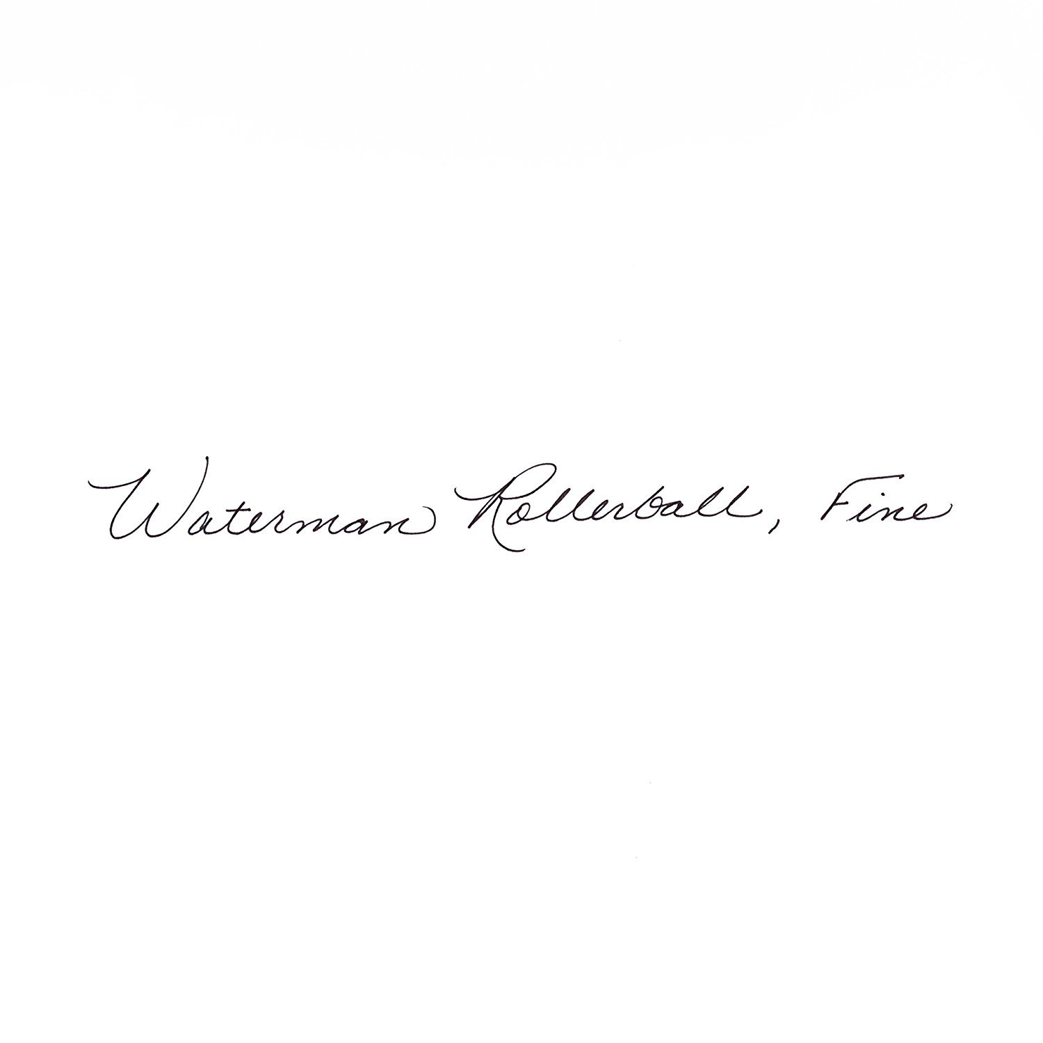 Waterman Perspective Black with Golden Trim, Rollerball pen with Fine Black refill (S0830860) by Waterman (Image #5)