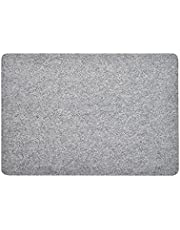 Wool Ironing Pad Felt Pressing Mat Clothes Ironing Board Cover Mats Home Supplies for Quilting Ironing Sewing - Grey 12 * 18inch