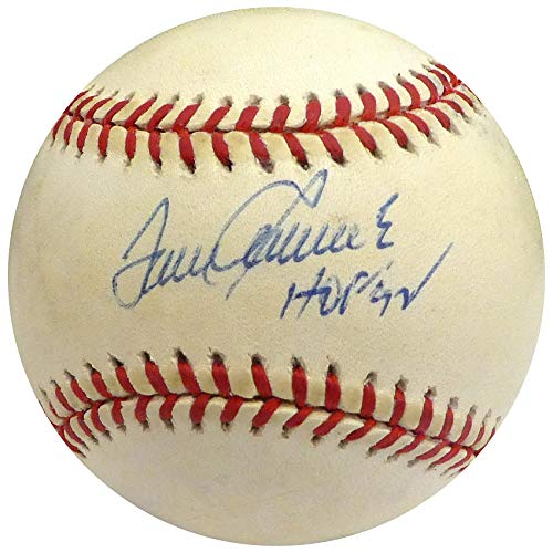 - Tom Seaver Autographed Official NL Baseball New York Mets, Cincinnati Reds