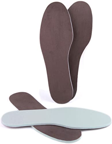 biped 2 pairs of memory insoles super-soft for extra comfort z2476