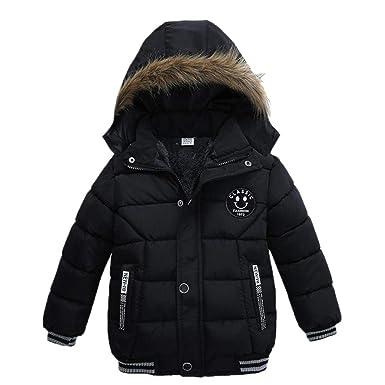 20aac3e9f137 Amazon.com  Goodkids Toddler Boys Down Jacket Winter Jacket Hooded ...