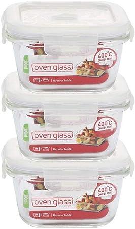 Cristal caja de almuerzo;infantil Complemento Alimenticio caja;Caja de almacenamiento conjunto Minifalda;Microondas caja de almuerzo;Caja de almuerzo;Bocadillo;Caja de almacenamiento enyesada. Bento b: Amazon.es: Hogar