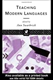 Teaching Modern Languages (Open University), , 0415102553