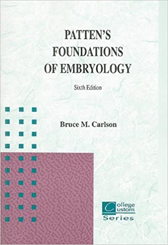 Pdf of 6th pattens edition embryology foundations