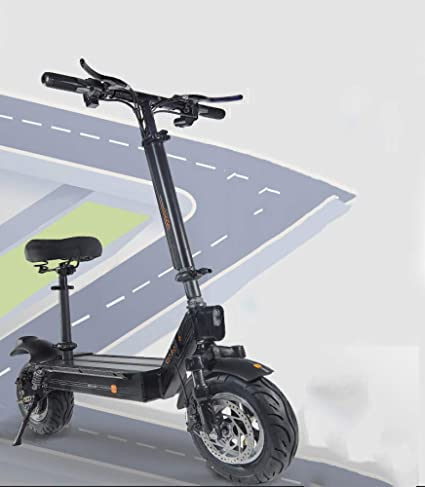 M&Ms Scooter Electrico con Asiento 11 Pulgadas Fuera De La ...
