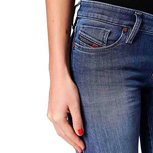 Slim Jean Diesel Diesel Femme Denim Jean 1OBFxqt