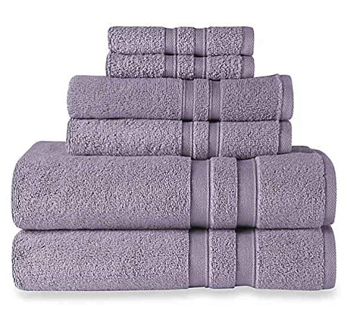 Wamsutta Ultra Soft 6-Piece Bath Towel Set (Grape) (6 Piece Towel Set Grape)