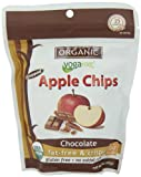 Yogavive Organic Popped Apple Chips, Chocolate, 1.41 Ounce