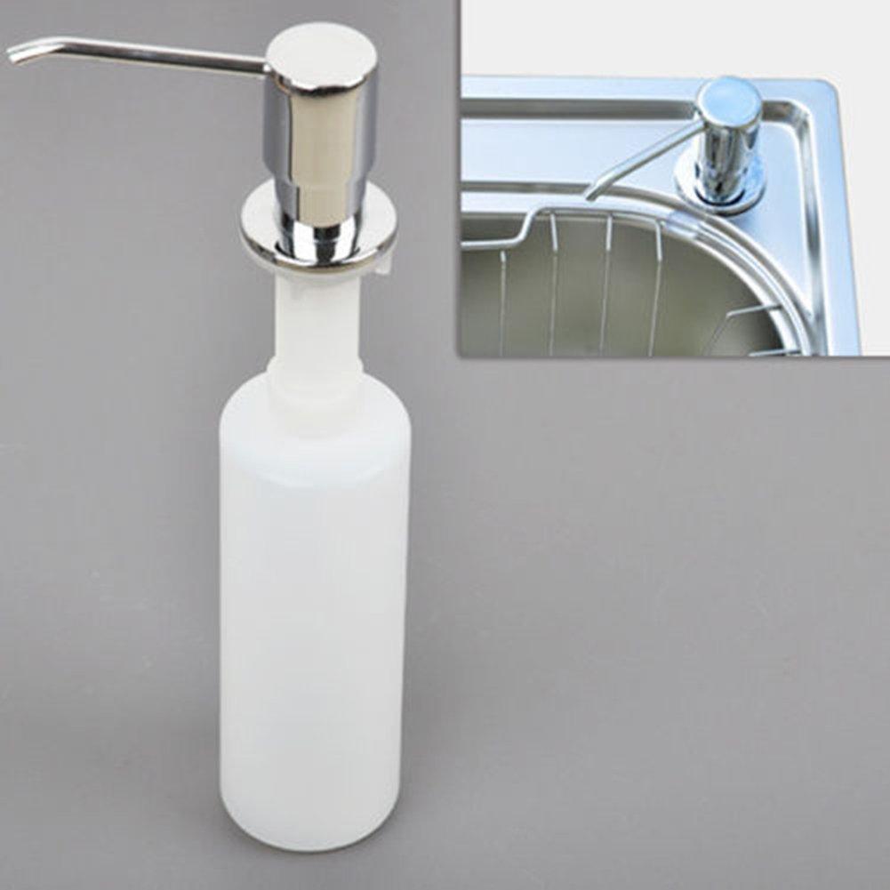 E Support 300 ml Plástico ABS + acero inoxidable baño cocina ...
