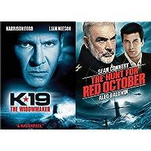 Ultimate Submarine Thriller Films: K-19 The Widowmaker + The Hunt For Red October