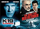 Ultimate Submarine Thriller Films: K-19 The Widowmaker + The Hunt For Red October (Cold War Classics 2 DVD Set)