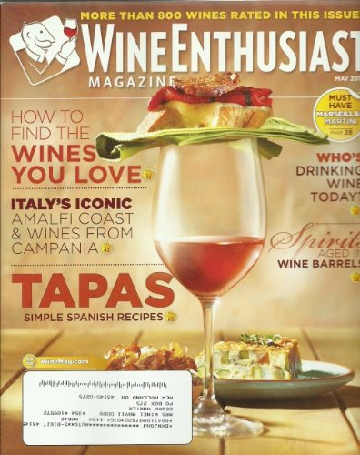 Aged Spanish Wine (Wine Enthusiast Magazine May 2011 More Than 800 Wines Rated in This)