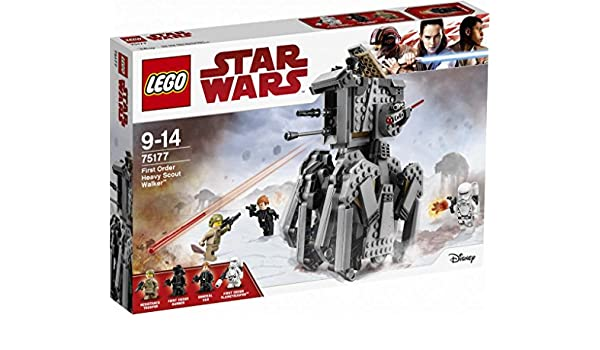 LEGO Star Wars The Last Jedi 75177 First Order Caminata de ...