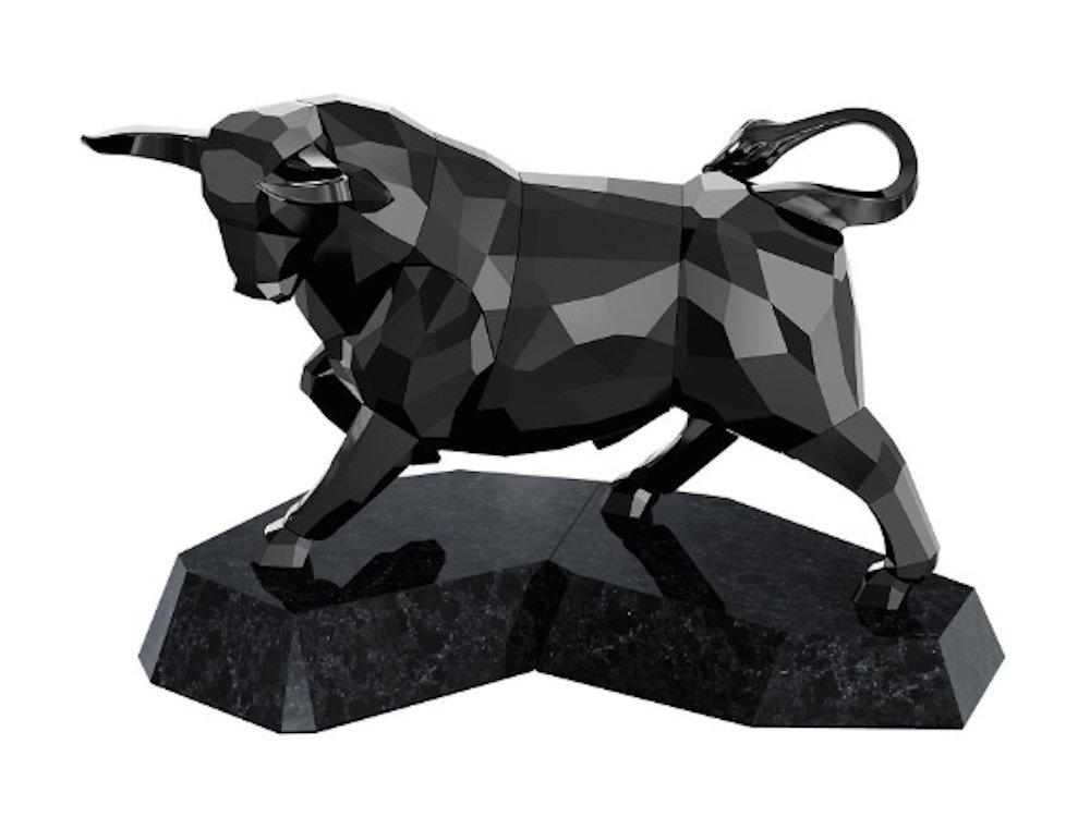 Swarovski Soulmates Bull, Black