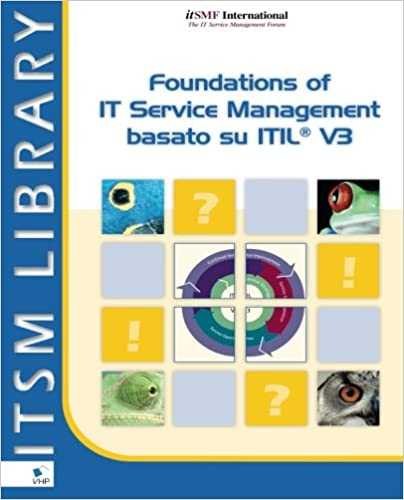 Basato su ITIL V3 Foundations of IT Service Management