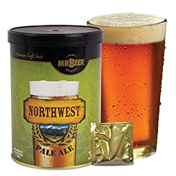 Mr. Beer Northwest Pale Ale 2 Gallon Homebrewing Craft Beer Refill Kit