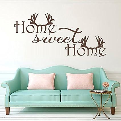 Home Sweet Home Wall Decor.Amazon Com Wall Decal Decor Home Sweet Home Wall Decals