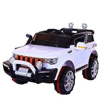 TH Coche Eléctrico para Niños SUV-2.4Ghz,12V7A,Doble Accionamiento,Control