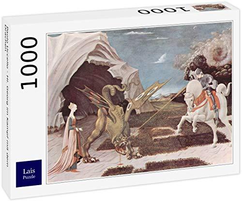 Lais-Puzzle-Paolo-Uccello-San-Jorge-luchando-contra-el-dragon-1000-Piezas