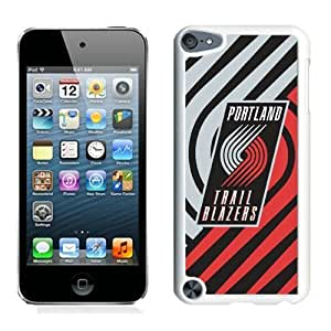 New Custom Design Cover Case For iPod Touch 5th Generation portland trail blazers 5 White Phone Case
