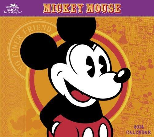Download By Disney 2014 Disney Classic Mickey Mouse Wall Calendar (Wal) [Calendar] PDF