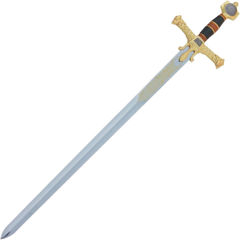 Amazon.com: Espada De King de Salomón Templarios Medieval ...