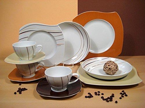 Eureka Massai Mara de mesa de planchado 30 teilig nuevo porcelana ...