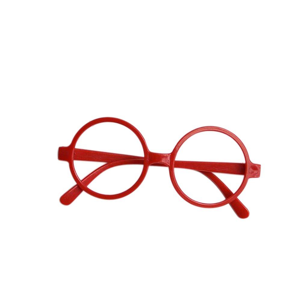 Exing Kinder Kinder runden Form schwarz oder rot Frame Harry Potter Gläser Weihnachtsgeschenk