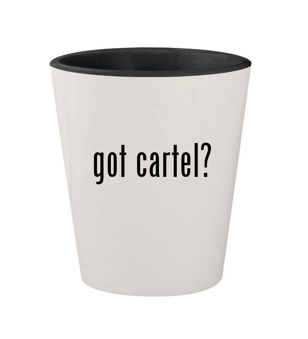 Amazon.com | got cartel? - Ceramic White Outer & Black Inner ...