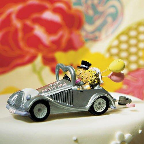 Weddingstar Wedding Get-a-way Car Figurine ()