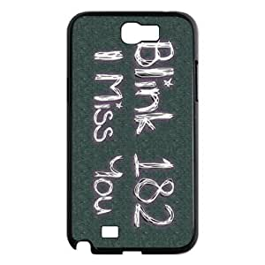 CTSLR Blink 182 Hard Case Cover Skin for Samsung Galaxy Note 2 N7100-1 Pack- 6