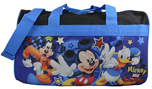 Disney Mickey Duffle Carry Coloring