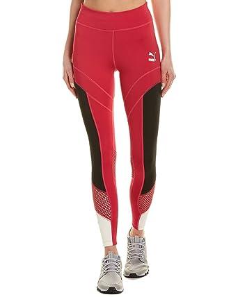 d8441dc41a28f5 PUMA Women's Flourish XTG Leggings Cerise/Puma Black X-Small 27