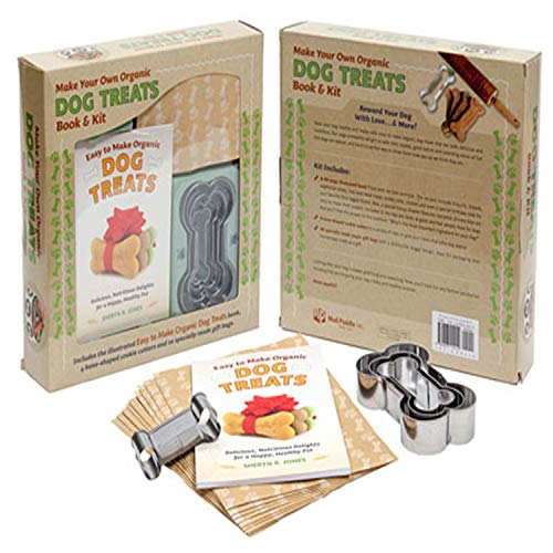 Make Your Own Organic Dog Treats Book & -