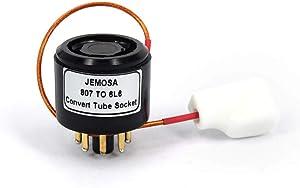 JEMOSA Convert Tube Socket 807 FU7 FU-7 Vacuum Tube TO 6L6 KT88 Electronic Tube DIY Adapter Socket 1PC