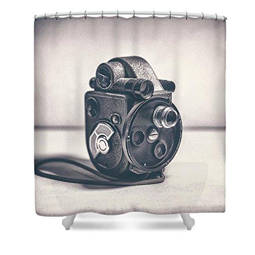 Pixels Shower Curtain (74'' x 71'') ''Revere Eight - Model 99''