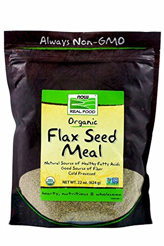Now Foods Flax Seed Organic Meal (22 OZ – Pack of 2) Review