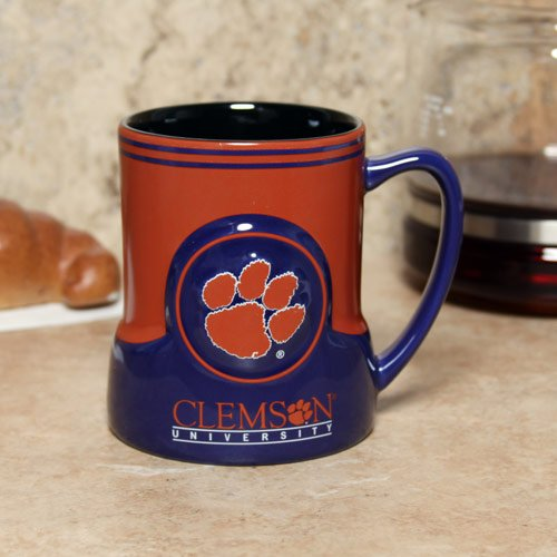Clemson Tigers Coffee Mug - 18oz Game Time