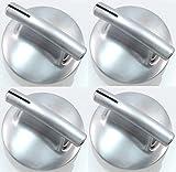 Surface Burner Knob, 4 Pack for Maytag, Jenn Air, AP4100128, PS2088183, 74010839