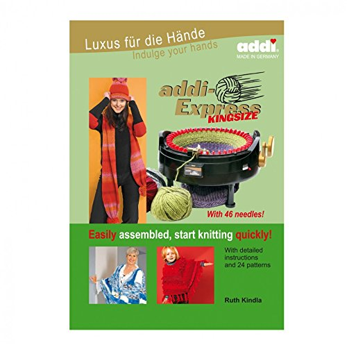 Addi King Size Knitting Machine Book