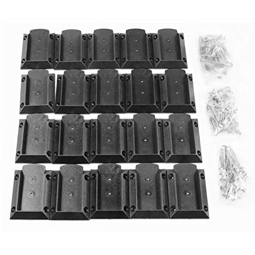 KASTFORCE KF4011 Decking Railing Connectors (20 pcs + 120 Screws) for 2