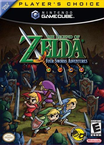 Legend Zelda Four Swords Adventures Gamecube