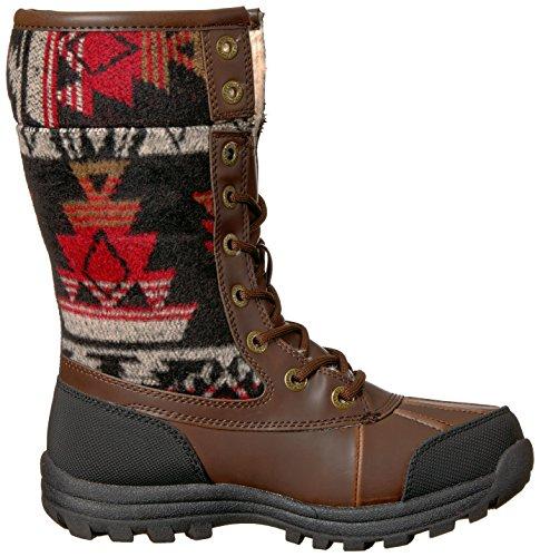 Lugz Womens Tambora Fashion Boot Brown/Black/Red-cream 5ZjByVTVb