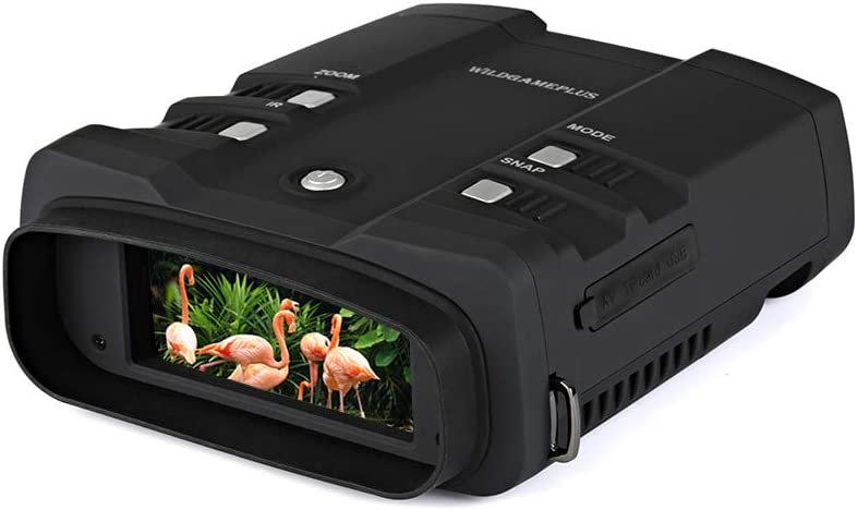 WILDGAMEPLUS WG500B Night Vision Binoculars- Best Night Vision Scope For Coyote Hunting