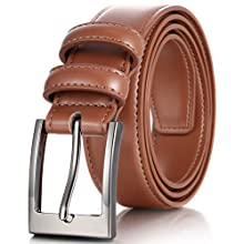 Brown color men's belt