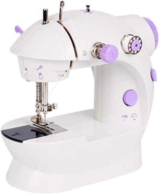 Máquina de coser para el hogar mini máquina de coser pequeña ...