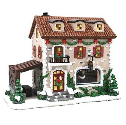 St Nicholas Christmas Village.St Nicholas Square Christmas Village Collection Illuminated Winter