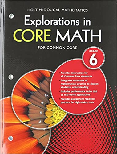 Amazon explorations in core math common core student edition explorations in core math common core student edition grade 6 2014 1st edition by holt mcdougal fandeluxe Choice Image