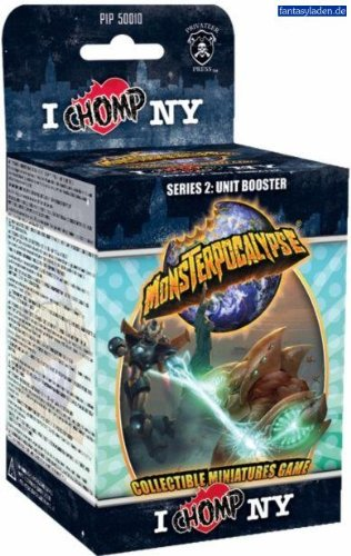 Privateer Press Monsterpocalypse Collectible Miniature Game Unit Booster Pack Series 2 Chomp NY