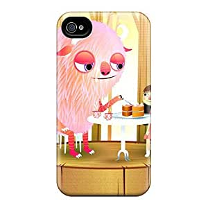 Fashion Protective The Pink Monster Cases Covers For iphone 6 6s